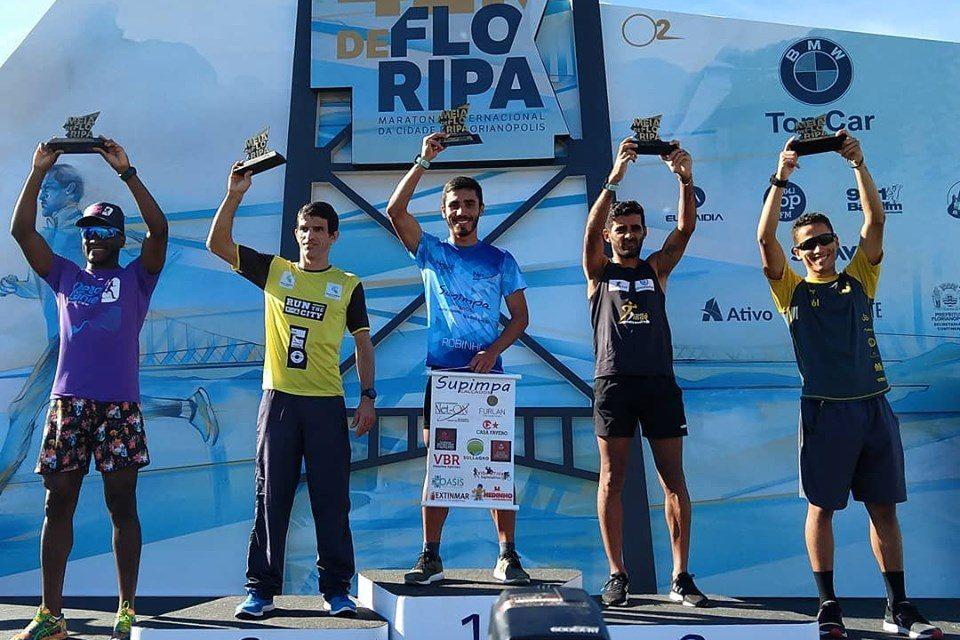 Atleta beltronense conquistou a meia maratona internacional de Floripa