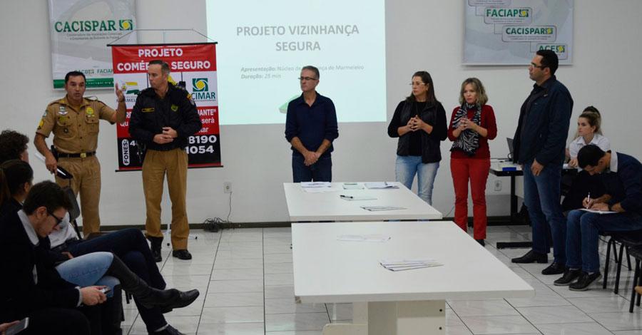 Projeto Comércio Seguro é destaque em Marmeleiro
