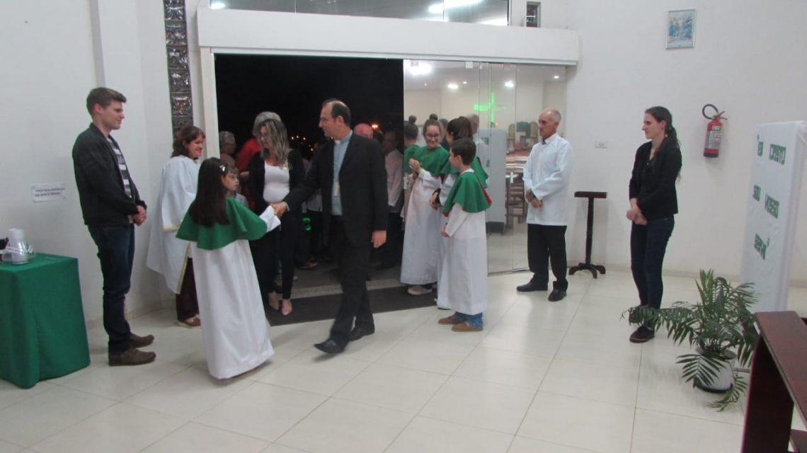Paróquia de Flor da Serra recebe a Visita Pastoral de Dom Edgar