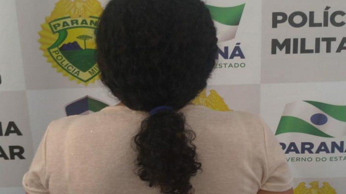Mulher de 55 anos é detida pela PM em Coronel Vivida