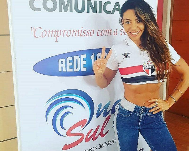 Beltronense Paula Antunes é eleita Gata do Paulistão 2019