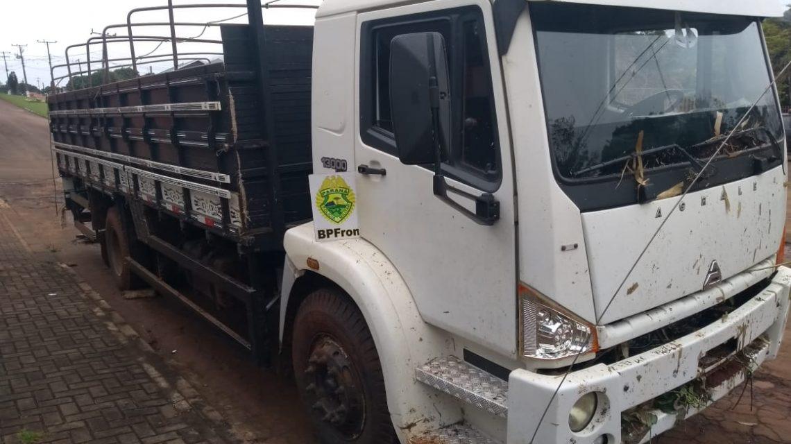 Caminhão carregado de cigarros contrabandeados é apreendido em Nova Prata
