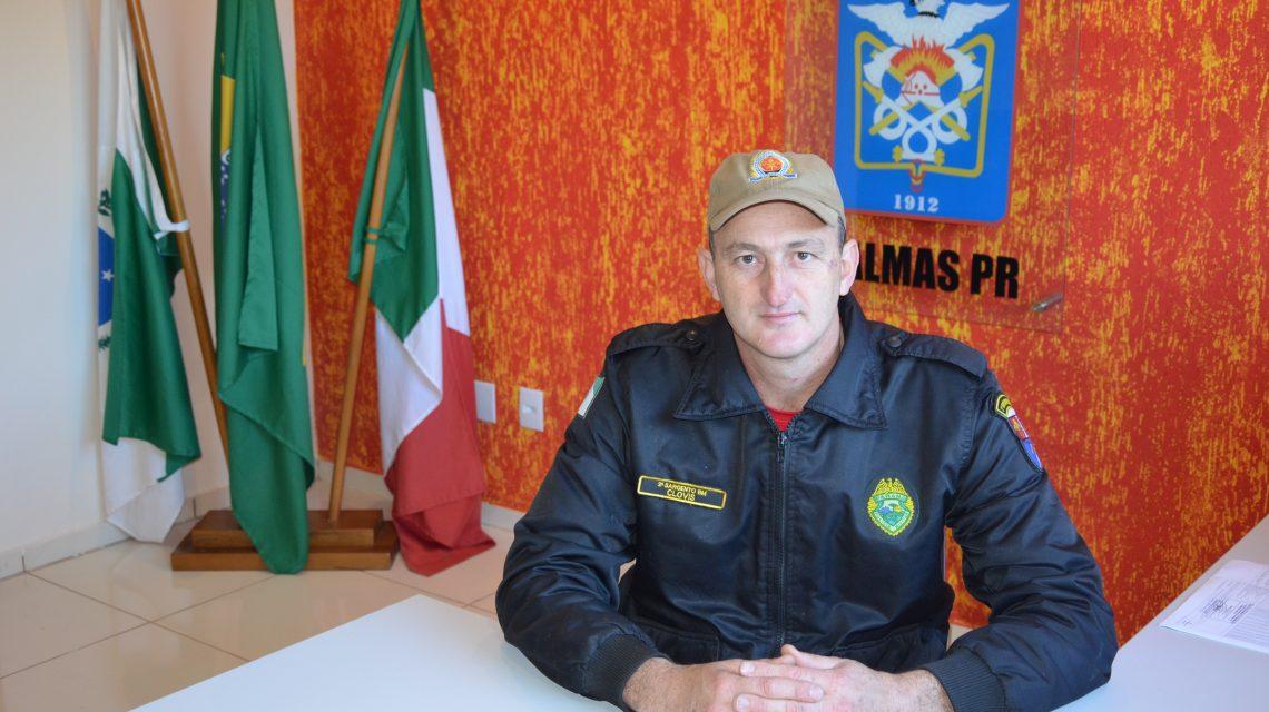 Sargento Clovis Maccari assume o comando do Corpo de Bombeiro de Palmas
