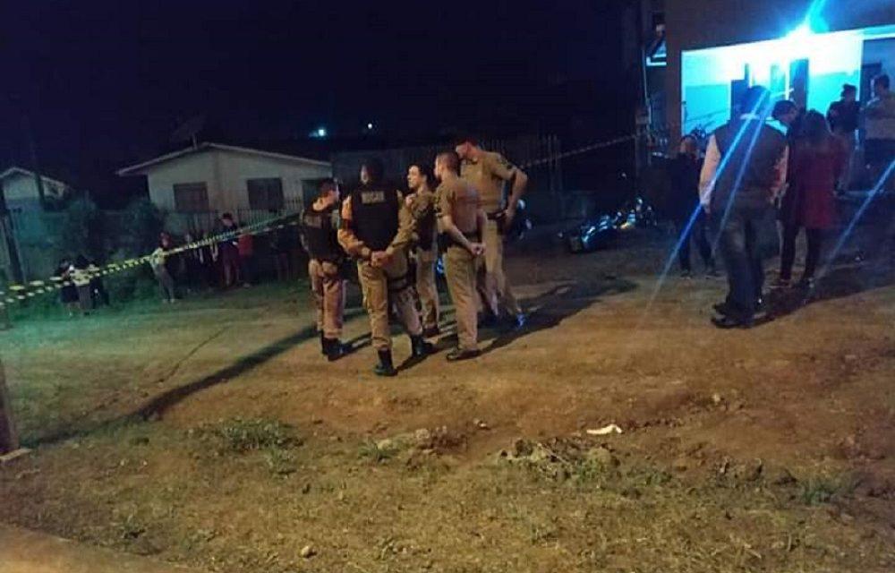 Rapaz é morto a tiros em Dois Vizinhos