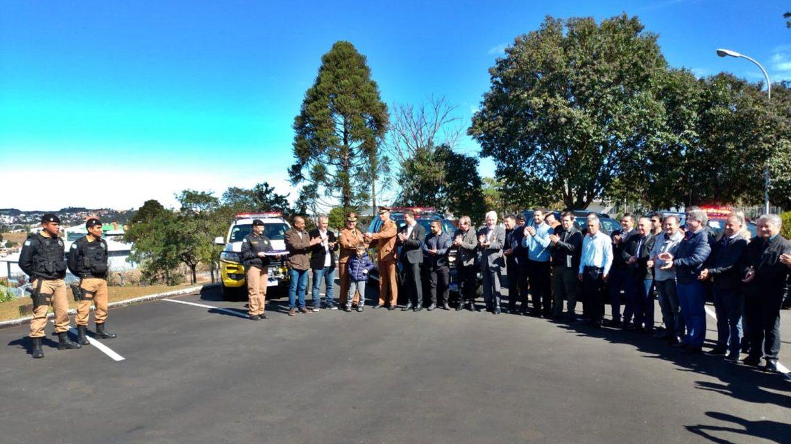 Novas viaturas reforçam ações policiais na região de Pato Branco