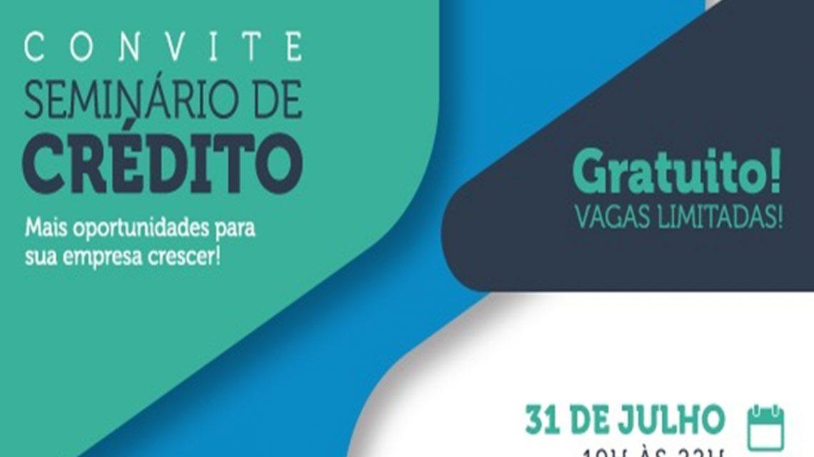 Sebrae promove seminário de crédito nesta quarta-feira, em Candói