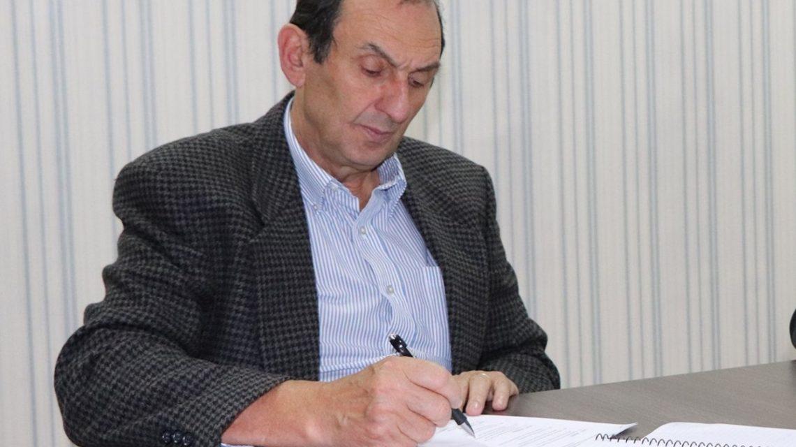Cavassini reassume prefeitura de Abelardo Luz