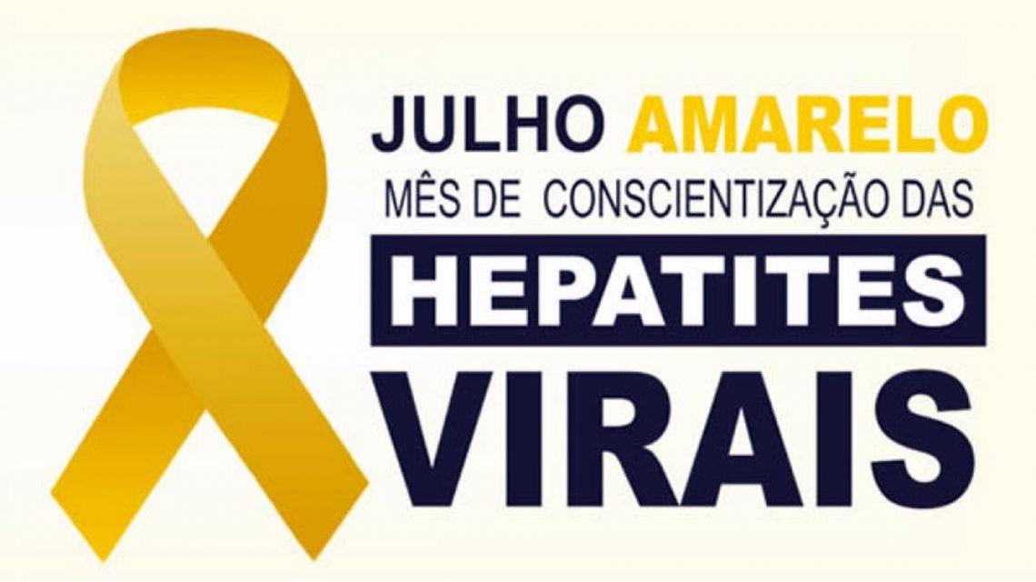 Em Julho, Secretaria de Saúde intensifica prevenção às hepatites virais