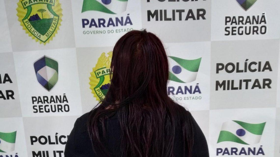 Polícia Militar prende mulher em Coronel Vivida