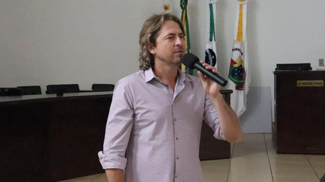 Deputado Zeca Dirceu esteve em Candói durante o fim de semana