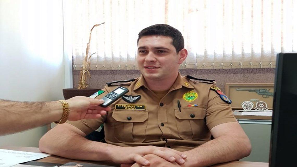 Tenente Zago assume a 3ª Cia da Polícia Militar de Coronel Vivida