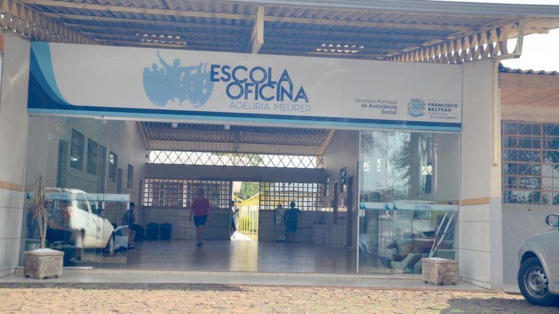 Escola Oficina abre a 3ª etapa do projeto Profissionalizando para o Futuro