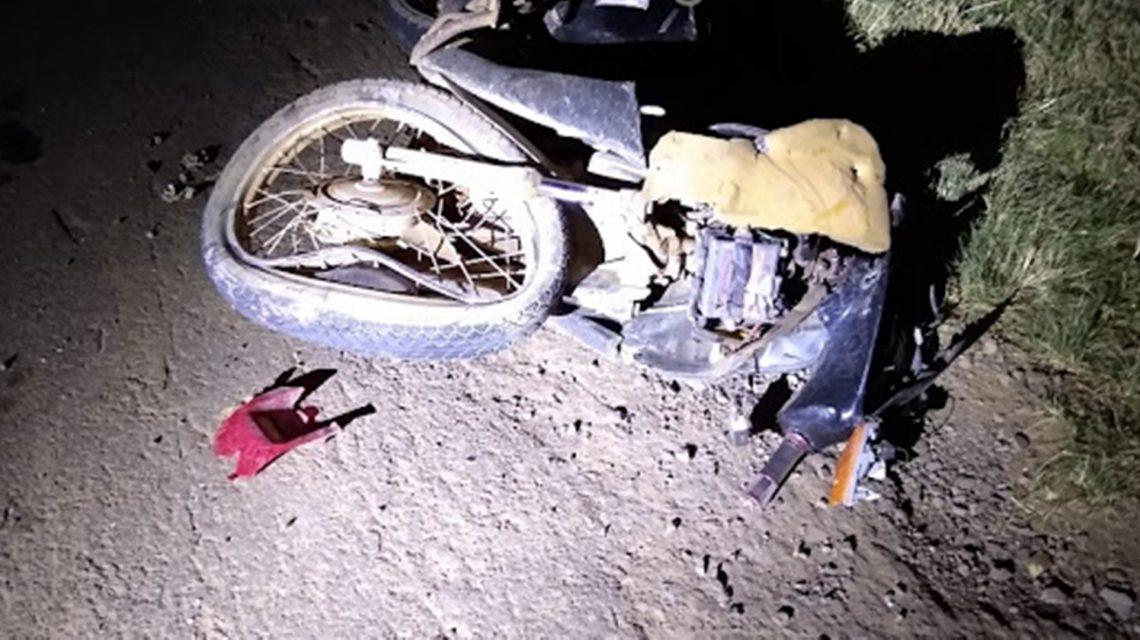Jovem motociclista morre vítima de acidente na PR-170, em Pinhão