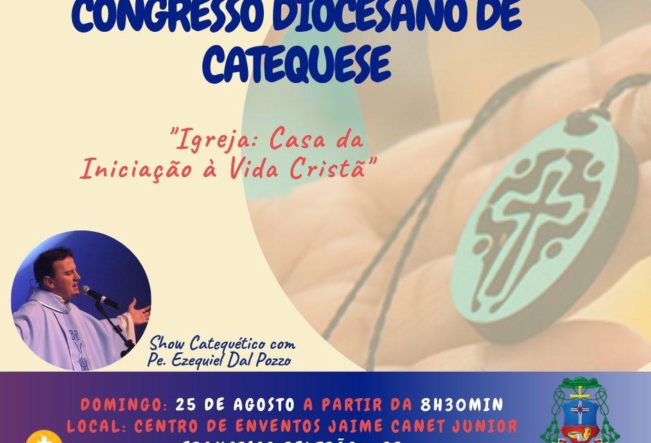 Diocese prepara o grande Congresso dos Catequistas