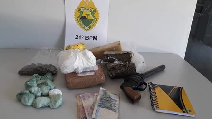 Polícia Militar apreende maconha e cocaína em Dois Vizinhos
