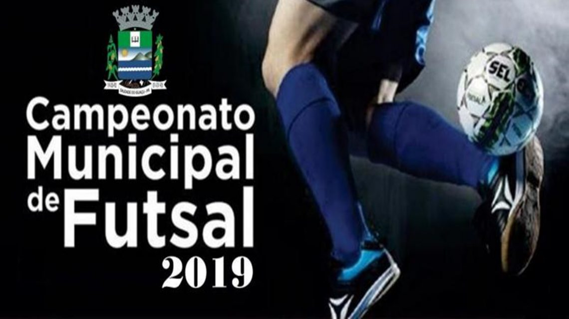 Municipal de Futsal inicia neste sábado em Saudade do Iguaçu