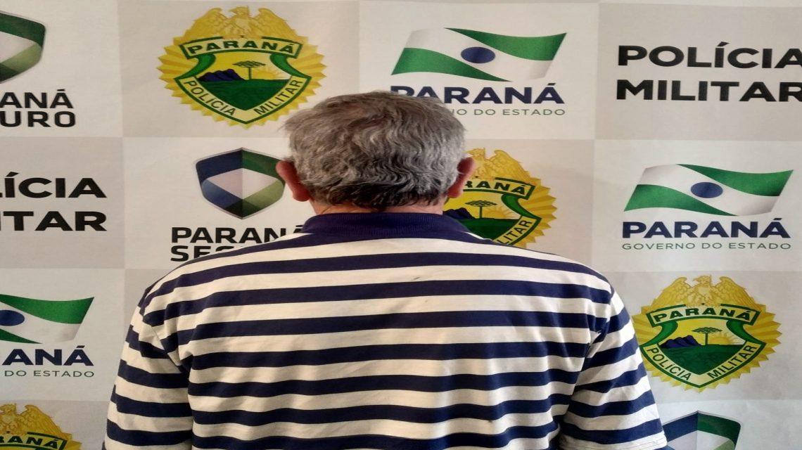 Homem é preso por roubo e corrupção de menores em Coronel Vivida