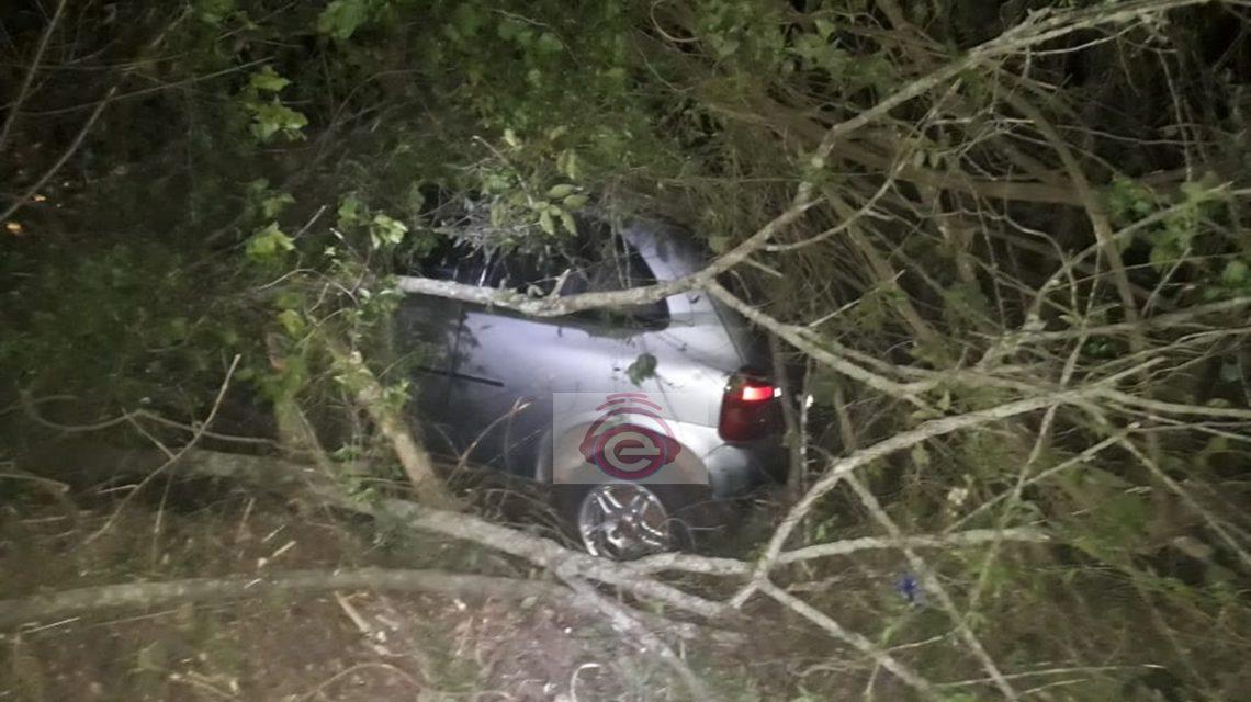 Acidente na BR-373 em Candói deixa dois feridos