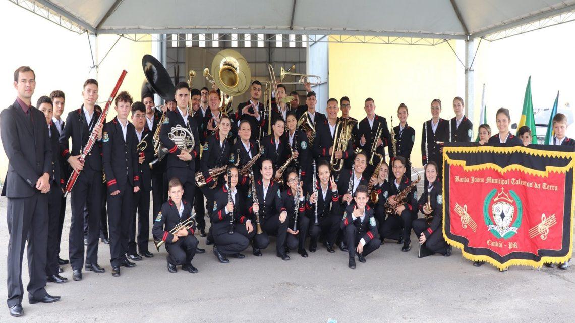Banda Municipal de Candói conquista segunda colocação em campeonato estadual realizado em Matinhos