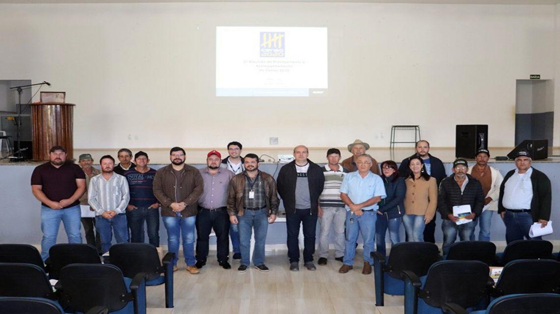 Candói realizou primeira reunião de planejamento do Censo 2020