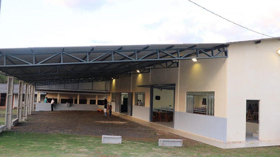 Prefeitura de Candói inaugura reforma e ampliação do centro comunitário na comunidade de Faxinal Santo Antônio