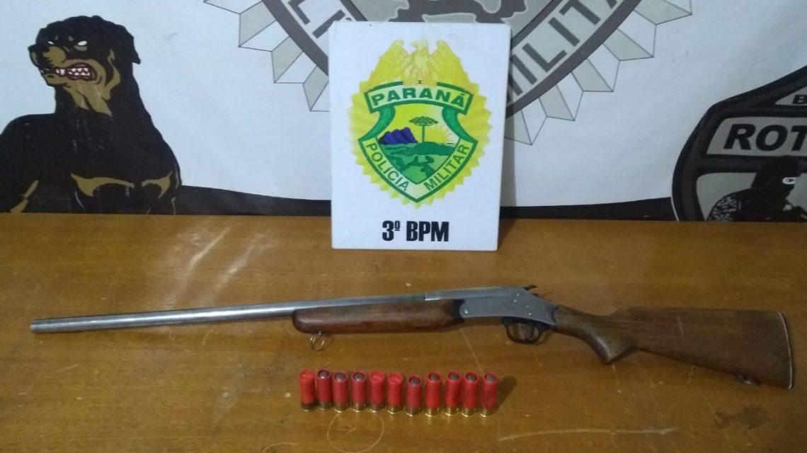 Armas de fogo são apreendidas pela ROTAM em Palmas