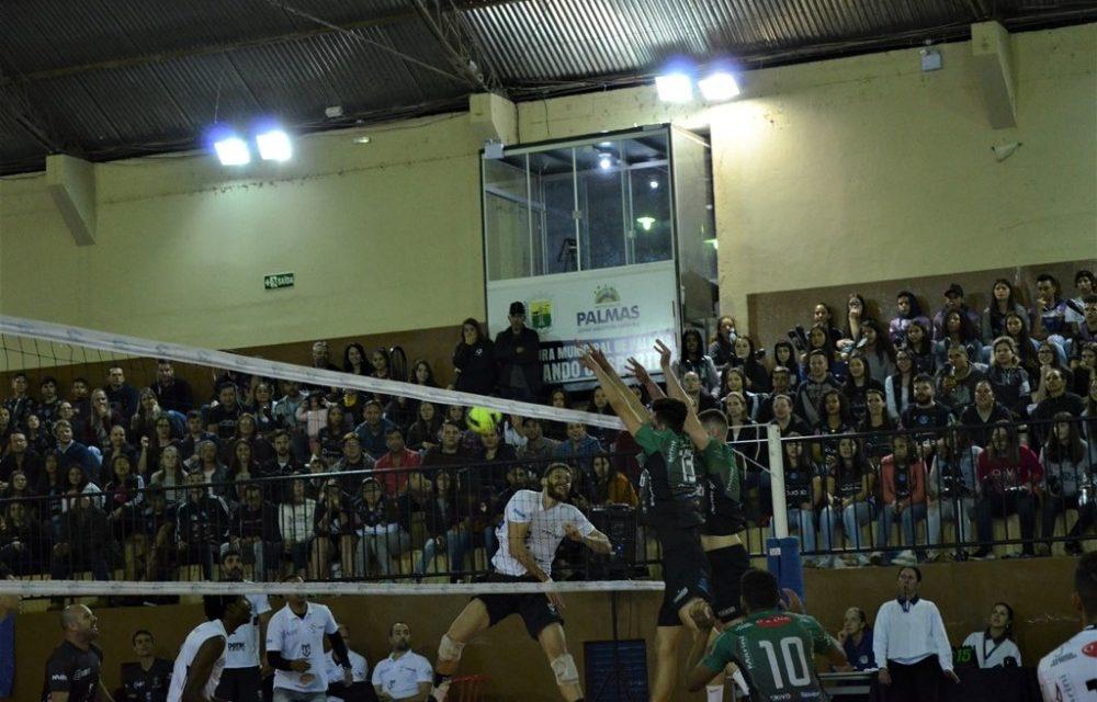 AVP Palmas perde a primeira no Paranaense de Voleibol Série A