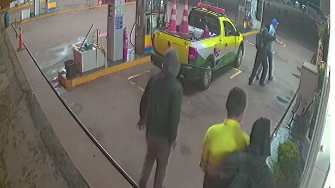 Candói: Posto Três Pinheiros é assaltando e bandidos levam carro de concessionária Ecocataratas