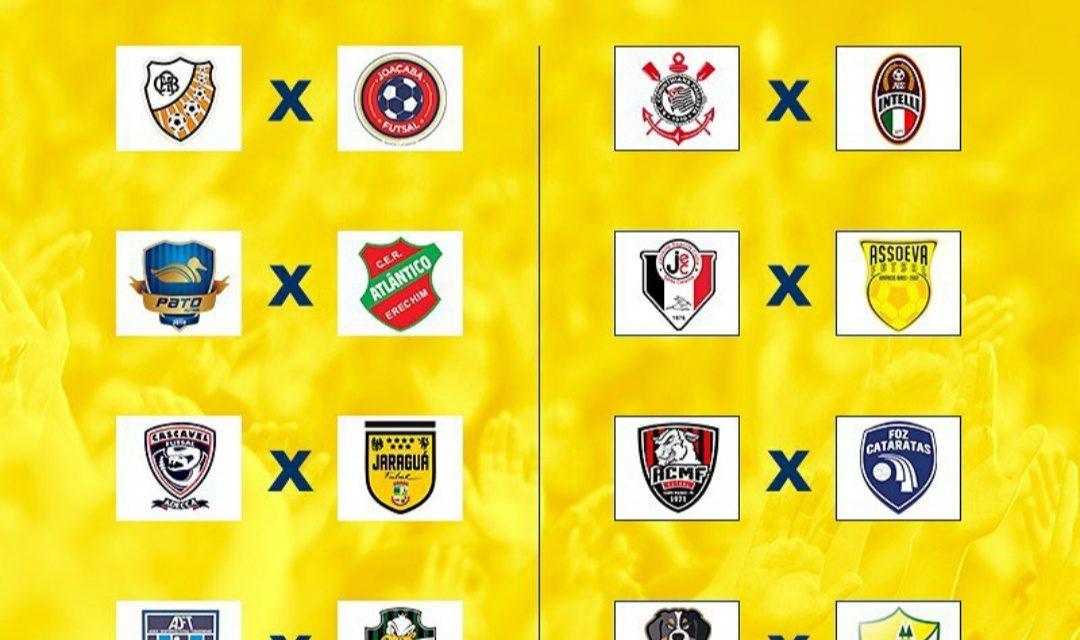 Definidos os confrontos das oitavas de final da Liga Nacional de Futsal