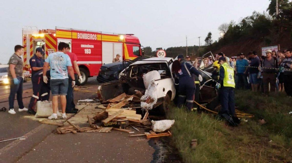 Quatro mortes em acidentes no Oeste de SC durante o final de semana