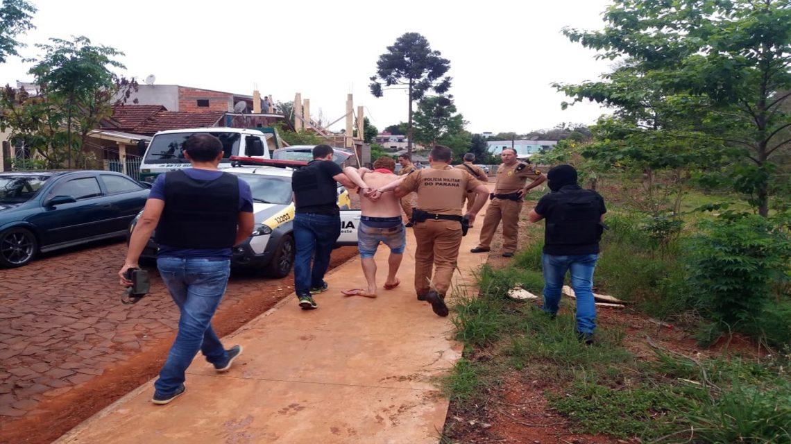 Polícia captura foragido em operação na fronteira Sudoeste