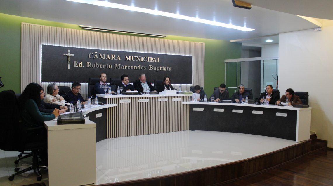 Câmara de Palmas vota quatro Projetos de Leis nesta segunda-feira