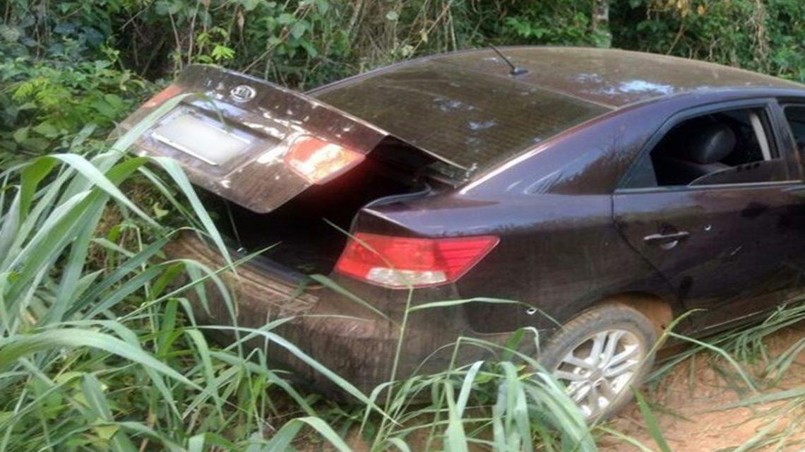 Veículo utilizado no assalto ao Sicredi de Saudade do Iguaçu é localizado