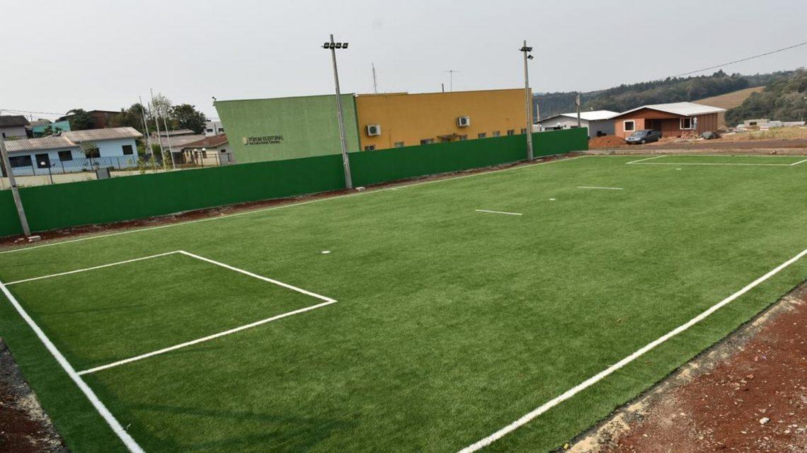 Chopinzinho investe em nova área de lazer no Bairro São Sebastião