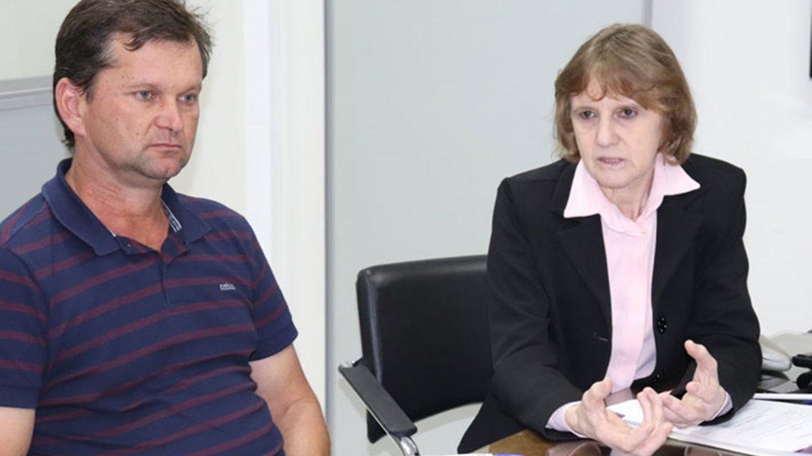 Luciana Rafagnin discute com Adapar e Seab a regulamentação do SUSAF no Estado