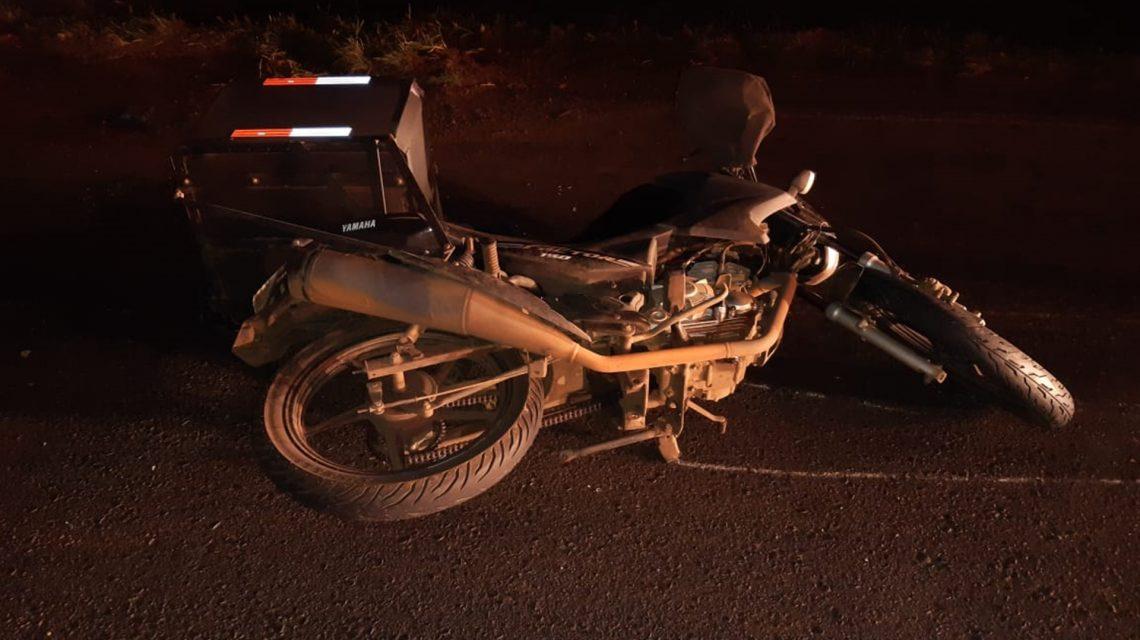 Motociclista morre em acidente na PR-158, em Pato Branco