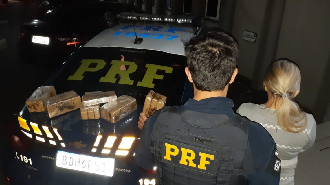 Mulher de 26 anos é presa por tráfico de drogas em Pato Branco
