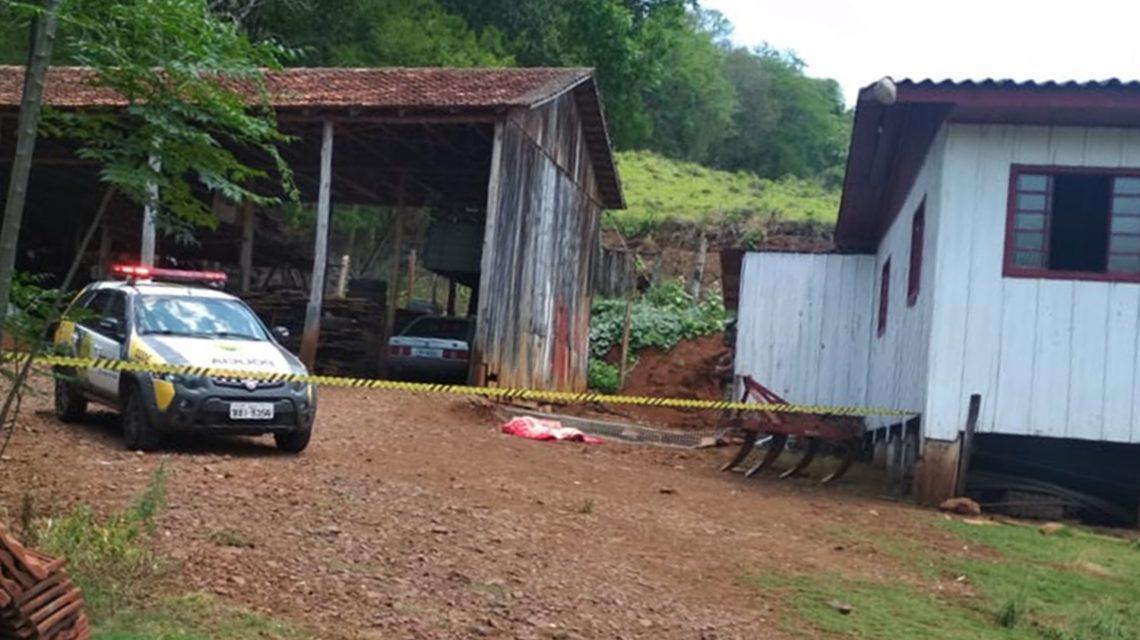 Homem mata ex-mulher e se suicida no interior de São Jorge D'Oeste