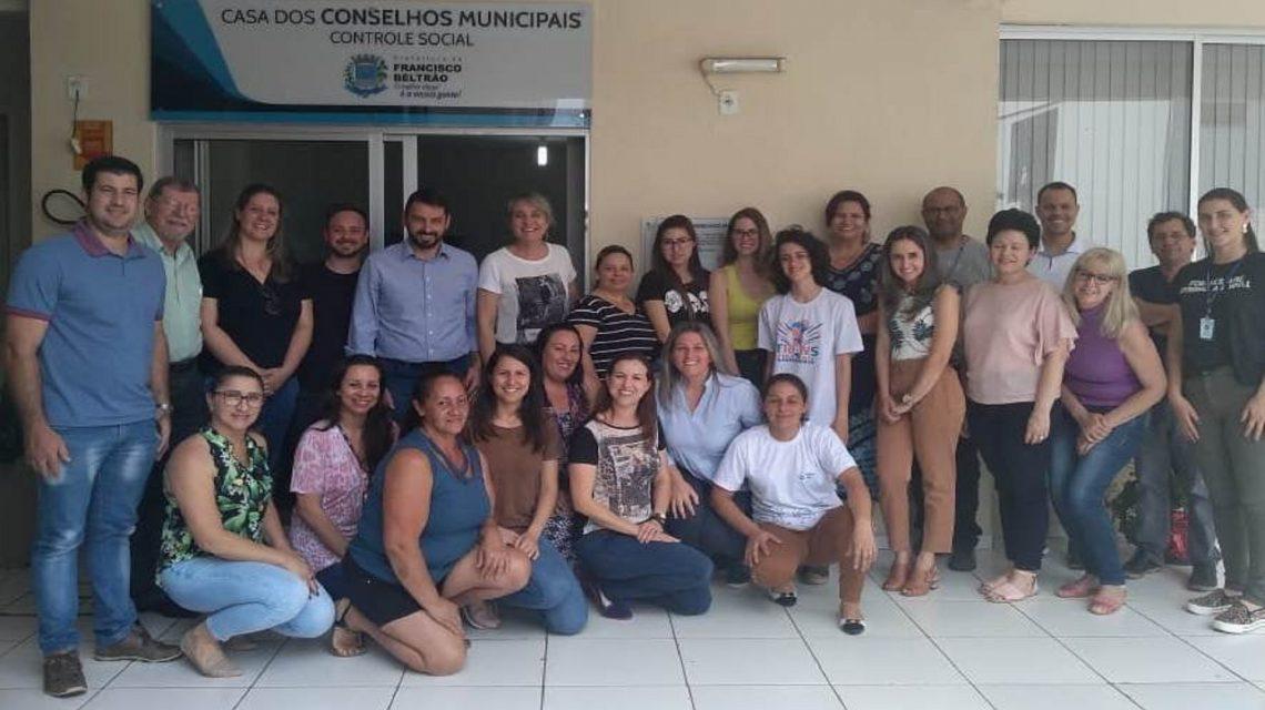 Conselho de Assistência Social de Francisco Beltrão empossa novos membros