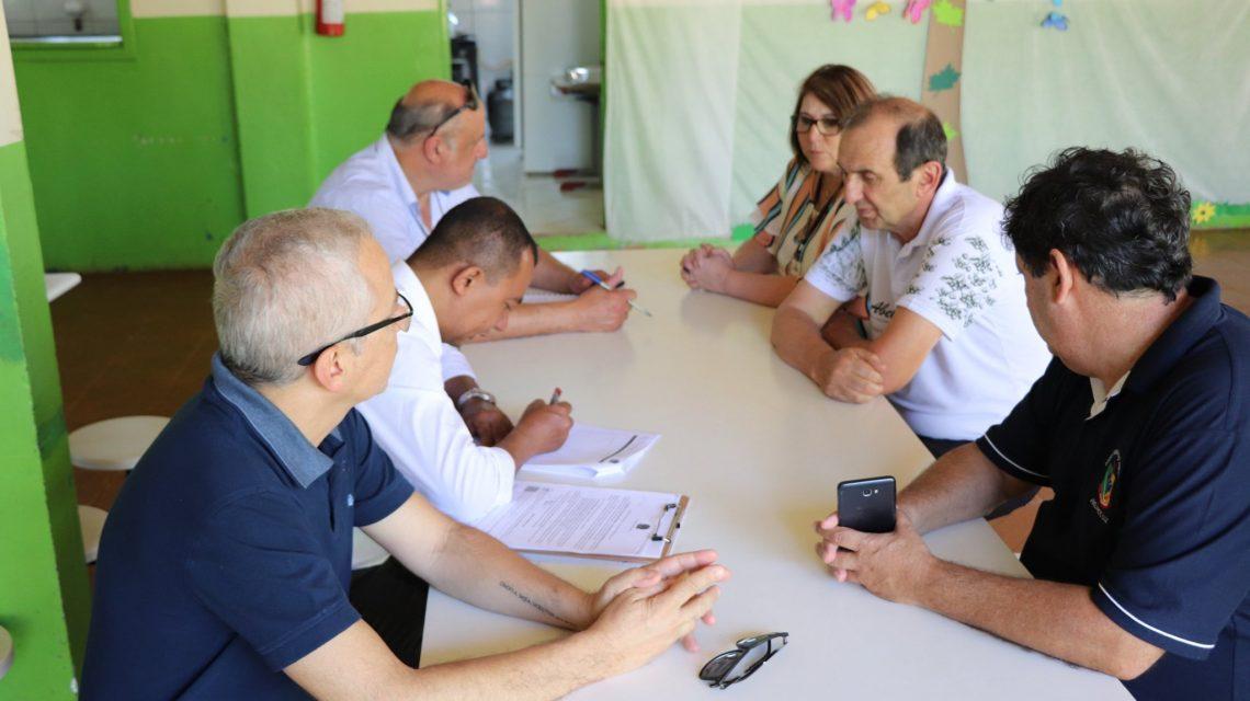Comissão do MEC vistoria escolas para manutenção do IFC em Abelardo Luz