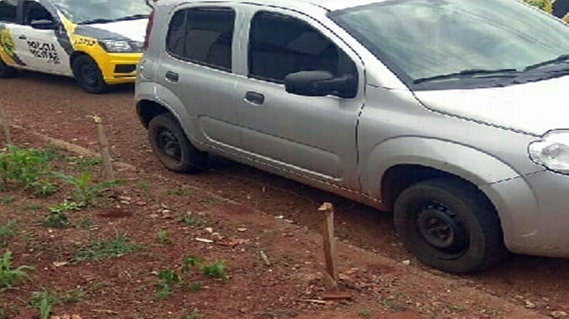 Veículo roubado em Santa Catarina é localizado em Dois Vizinhos