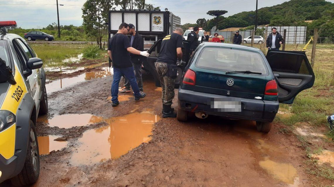 Homem é encontrado morto dentro de carro em Pato Branco