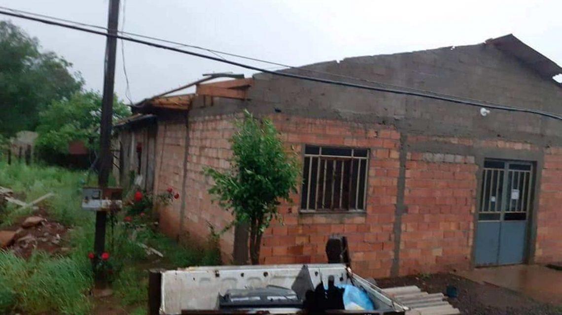 Vendaval danificou mais de 70 casas em Palmas