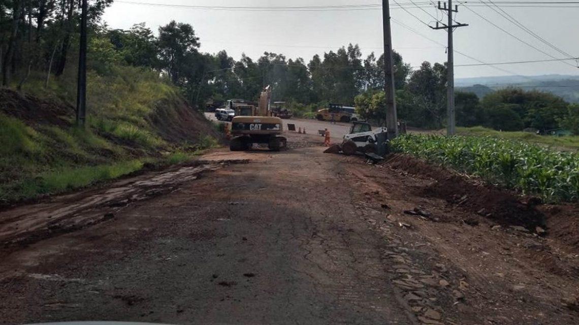 Francisco Beltrão: Acesso para a Seção Jacaré recebe melhorias