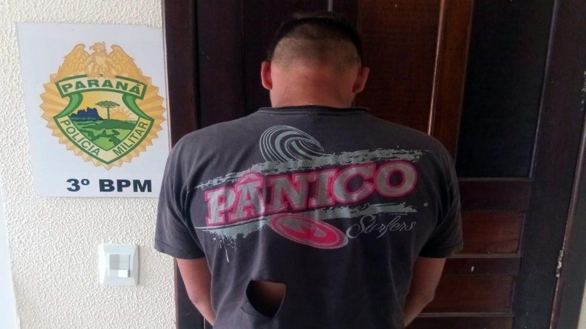Homem é preso suspeito de tráfico de drogas em Mangueirinha