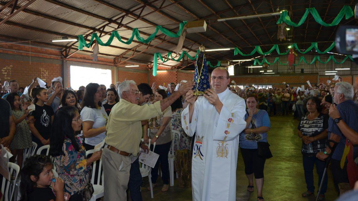 Palmas: Paróquia do Lagoão celebra Nossa Senhora Aparecida