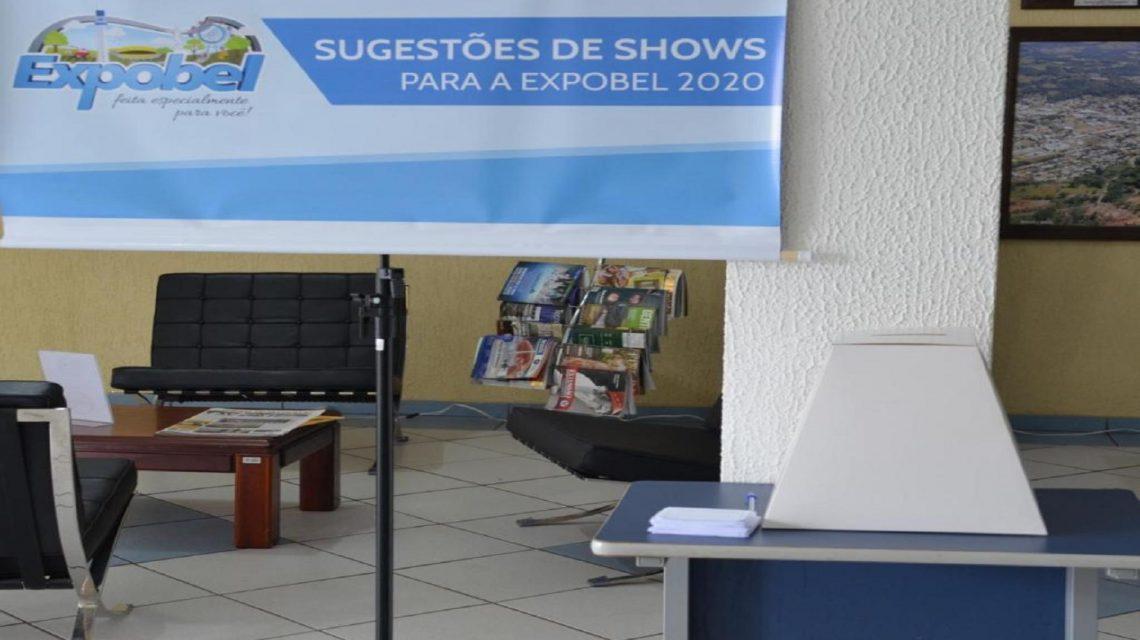 População de Francisco Beltrão sugere shows para a Expobel