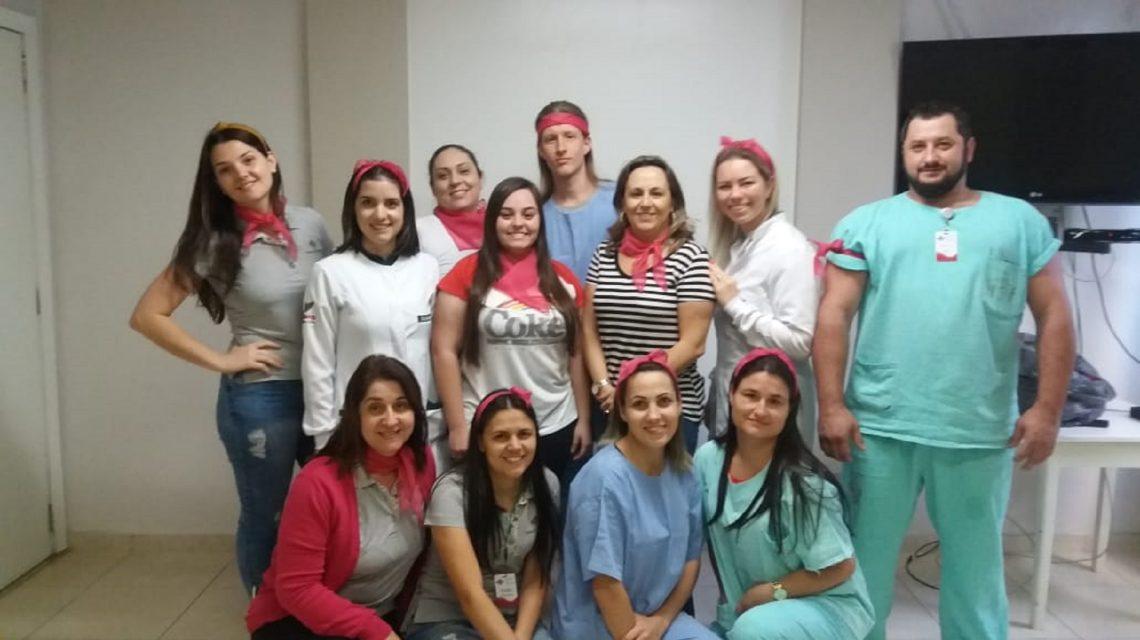 Colaboradoras do Hospital São Francisco terão ações de prevenção no Outubro Rosa