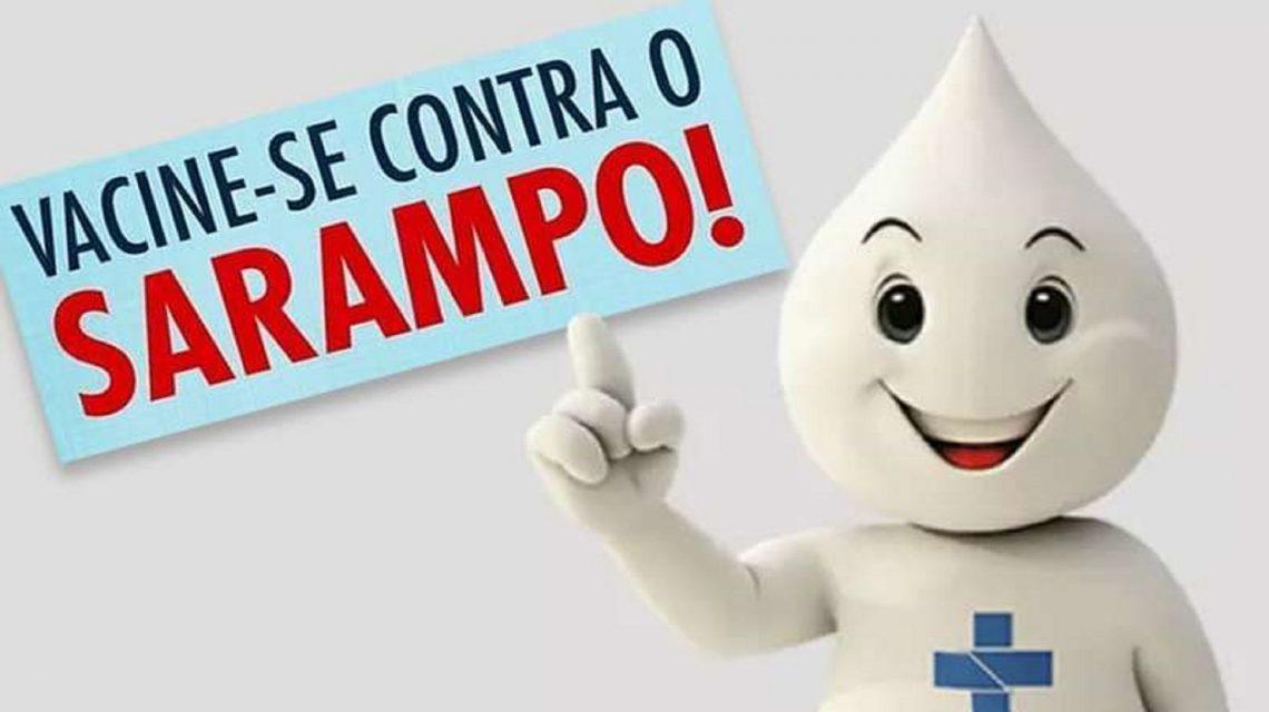 Campanha de Vacinação contra o Sarampo começa nesta segunda-feira
