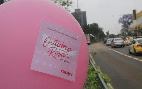 Outubro Rosa: Balões rosas devem marcar ação com agendamento de mamografias em...